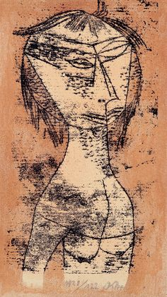 Paul Klee, The Saint of Inner Light, 1921