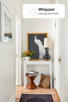This warm white paint is a dream! Perfect for brightening up north-facing rooms but versatile enough to work in any space. Best Neutral Paint Colors, Wall Paint Colors, Paint Colors For Living Room, Best White Paint, White Paints, French Style Homes, Accent Wall Bedroom, Painting Trim, Inspiration Wall