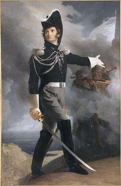Louis du Vergier de la Rochejaquelein par Pierre-Narcisse Guérin