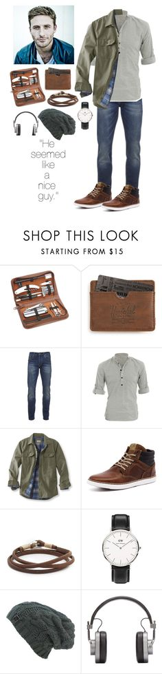 """Dean O'Gorman "" by acadia697 ❤ liked on Polyvore featuring Royce Leather, Herschel Supply Co., Scotch & Soda, Allegra K, L.L.Bean, Caputo & Co., Daniel Wellington, Master & Dynamic, men's fashion and menswear"