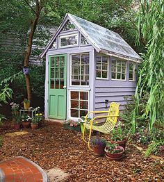 what a nice shed