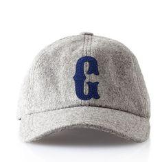 Wool Initial Ball Cap | Mark and Graham