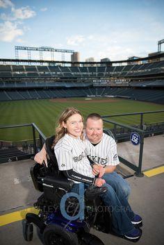 wheelchair engagement photos