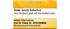Very courteous great with kid excellent value