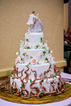 Beau gâteau La belle au bois dormant