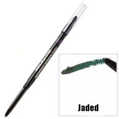 JADED Indelible Waterproof Long Wearing Automatic Eyeliner Pencil With Sponge Blender
