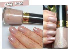 Revlon Grey Suede| One of my favorites!