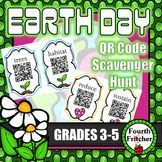 QR Code Scavenger Hunt: Earth Day Synonyms