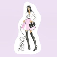 A #dalmatianpuppy is the perfect finish to any outfit....  Bethbriggs.com