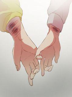 Anime Hand, Anime Love, Anime Guys, Manga Anime, Sad Girl, Couple Art, Taekook, Lembro, Welt