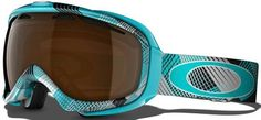 Turquoise goggles