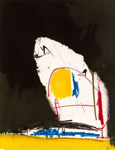 Robert Motherwell, Capriccio, 1961. #art #abstract #expressionism