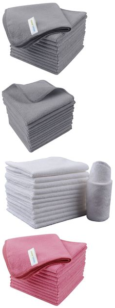 """12/"""" x 12/"""" BRAND NEW  Grant/'s 4 Pack Microfiber Multi-Purpose Cleaning Cloth"""
