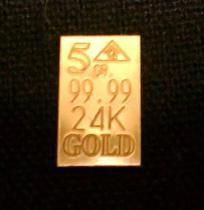 x10 ACB 24k 5Grain Gold with COA bars 99.99 fine Gold bullion INVESTMENT />