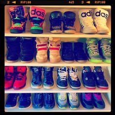 Left to Right  1. Jeremy Scott x Adidas Instinct Hi 2. Sandro Studded 11a35951b