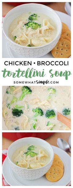 This Chicken Broccoli Tortellini Soup is a delicious and healthy meal that's ready in under thirty minutes. It's the perfect cozy dinner for a winter night! @BuitoniUSA #BalanceYourPlate #ad