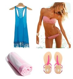 """""""Swimming:)"""" by kaylaharris1998 ❤ liked on Polyvore"""