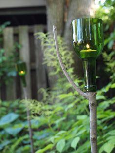 Wine Bottle Crafts « Mark Kintzel Design