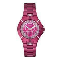 Guess watch in pink