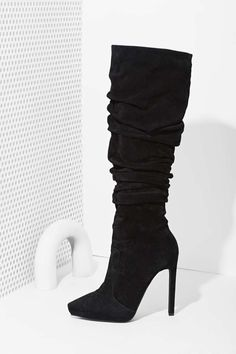 Jeffrey Campbell Alamode Suede Boot at Nasty Gal
