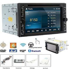"""96038 electronics HOT 2 Din Car DVD CD Player 6.2"""" In Dash Stereo Bluetooth Radio iPod SD/USB TV1  BUY IT NOW ONLY  $114.99 HOT 2 Din Car DVD CD Player 6.2"""" In Dash Stereo Bluetooth Radio iPod SD/USB TV1..."""