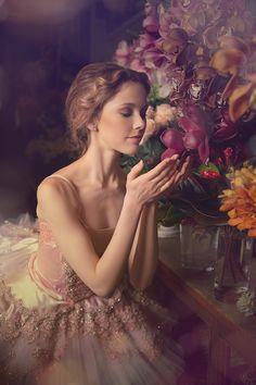 girl in cute Baden Romantic