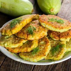 Crispy Fried Zucchini Cakes