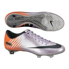 Nike Mercurial Vapor IX Soccer Cleats (Metallic Mach Purple/Black/Total Orange)