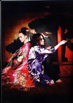 ruki the gazette kimonos