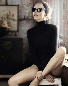 Eva Herzigova for Glamour Italia by Signe Vilstrup