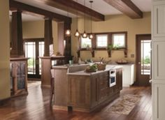 75+ Amazing Cream Dark Wood Kitchens Ideas  http://homecantuk.com/75-amazing-cream-dark-wood-kitchens-ideas/