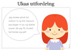 frk linn: ukas utfordring Teaching Math, Maths, Education, Reading, Children, School, Montessori, Young Children, Boys