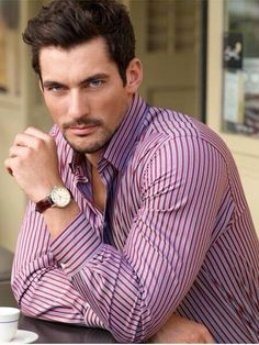 must be rough to be David Gandy David Gandy Style, David James Gandy, Famous Male Models, Androgynous Models, Dolce E Gabbana, Book Boyfriends, Perfect Man, Beautiful Men, Beauty