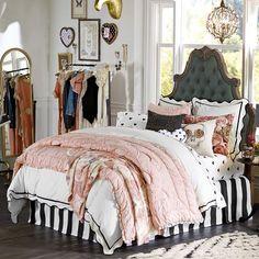 The Emily + Meritt Parisian Petticoat Quilt + Sham | PBteen