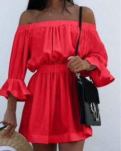 One-word Neck Drape Dress Black Midi Dress Outfit, Dress Outfits, Dresses, One Word, Draped Dress, Neckline, Spring Summer, Sleeve Pattern, Long Sleeve