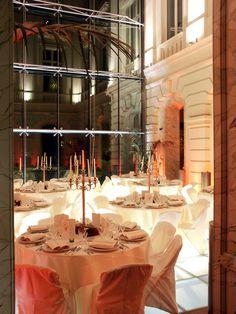 Ambiance féérique lors d'un événement festif au musée BELvue. http://belvue.be/fr/events