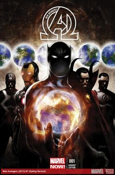 New Avengers by Steve Epting