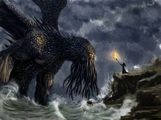 Cthulhu by nik-ivanov Kraken, Cthulhu, Bald Eagle, Bird, Animals, Animales, Animaux, Birds, Animal Memes