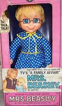 vintage-bliss ~ Buffy's doll. (No vampires to kill, here.) Do you remember Buffy, Jodie & Sissy? How about Uncle Bill and Mr. French?