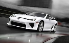 LFA - Toyota's contender into the super-car race