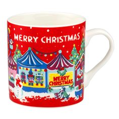 Merry Christmas Billie Mug | Cooking and Dining | CathKidston Great for that cuppa tae after the big Christmas dinner!