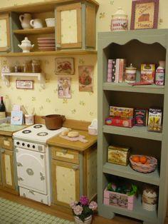 A room diorama 1:6 for pullip blythe momoko by WearingDreams
