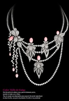 I have been so in love with Boucheron's latest fine jewelry collection that I had to share. Le Jeu de la Seduction collection is simply incredible. A trip to Boucheron's bejeweled fren… High Jewelry, Jewelry Art, Vintage Jewelry, Jewelry Necklaces, Jewelry Design, Fashion Jewelry, Jewellery, Wedding Jewelry, Silver Jewelry