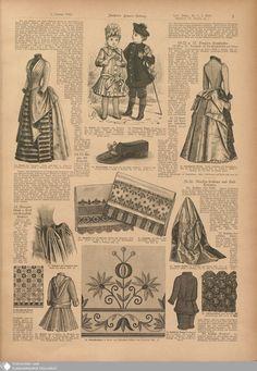 11 [3] - Nr. 1. - Illustrierte Frauenzeitung - Seite - Digitale Sammlungen - Digitale Sammlungen
