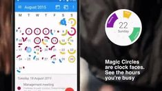 CloudCal - Know how busy you are each day of the month Calendar App, Free Calendar, Programmable Robot, Virtual Reality Games, Shapes And Curves, Rhythm Games, Interactive Learning, Magic Circle, Each Day