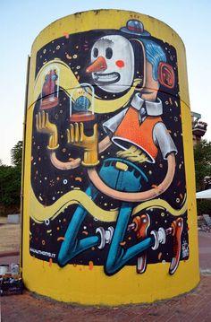 by Italian artist Mister Thoms