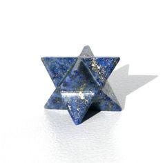 Lapis Lazuli Merkaba Star