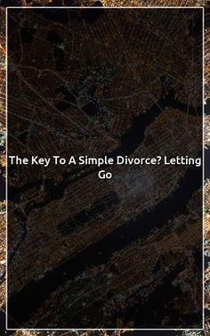 Key simple divorce letting go