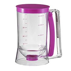 Cake Batter Dispenser With Measuring Label Collections; a great breakfast kitchen gadget on Amazon.com for creating the perfect pancake! #AmazonPrime