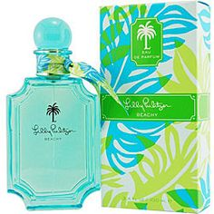 @Overstock - Fragrance was launched by the design house of Lilly Pulitzer'Beachy' is classified as a feminine scentWomen's fragrance features citrus, watermelon, jasmine, frangipani, amber, vanilla, marine air accord, tiare flower and salthttp://www.overstock.com/Health-Beauty/Lilly-Pulitzer-Beachy-Womens-3.4-ounce-Eau-de-Parfum-Spray/4362598/product.html?CID=214117 $31.99